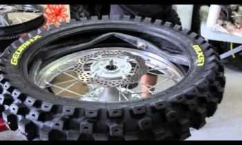 How To Change A Rear MC Tire