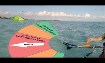 How to Kitesurf: Water Re-Launch (Basics)