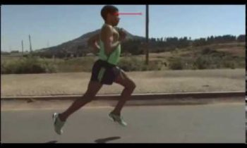 Haile Gebrselassie – Running style analysis