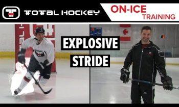 EXPLOSIVE STRIDE // On-Ice Hockey Training