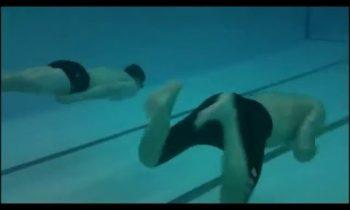 Underwater Swim Stroke Technique and Practice