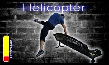 How to Helicopter / Leg Swipe – Free Running Tutorial
