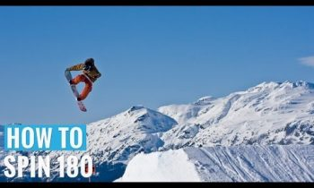 How to 180 Jump on a Snowboard – (Regular) 180 Trick Tip