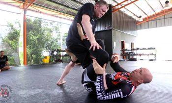 BJJ Technique at Tiger Muay Thai