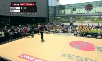 Nyjah Huston vs. Chris Cole Game of Skate Quarterfinals – World of X Games