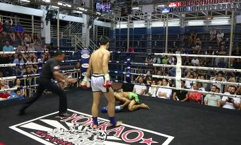 Xie Yu Hang PhuketTopTeam vs Mahesuan Thailand Muay Thai fight 20 July 2018