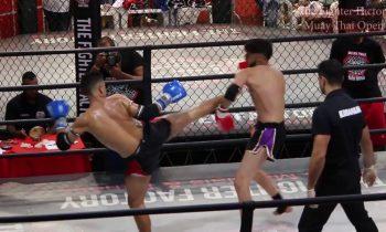 João Pedro BODE TFF Muay Thai VS Gabriel Gomes PNMT – TFF Muay Thai Open 2018 – round 1