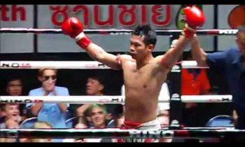 MUAY THAI K.O. OF THE WEEK: Kanthep Sitchansing vs Hanrawee Sujeebameekeao
