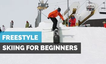 FREESTYLE SKIING FOR BEGINNERS | HOW TO SKI IN THE PARK