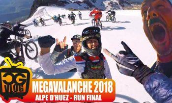 MEGAVALANCHE 2018 ALPE D'HUEZ – CARNAGE FINAL RUN -POV FULL RACE – CG VLOG #333