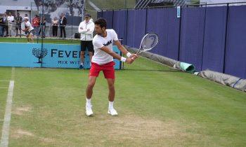 Novak Djokovic Backhand Slow Motion (HD)