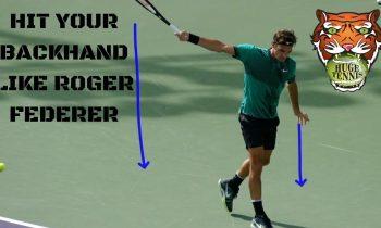 How To Hit Your Backhand Like Roger Federer