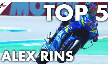 Alex Rins' Top 5 Moments from 2019