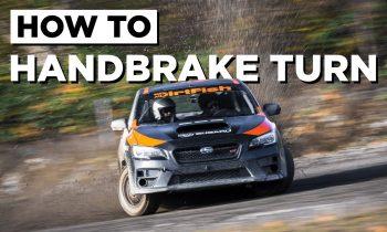 How to Handbrake Turn Like a WRC Driver