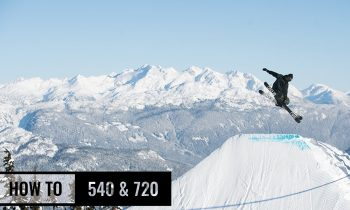 How To 540 & 720 On Skis