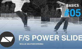 FRONTSIDE POWERSLIDE [SKATEBOARDING START TUTORIAL #5.0]