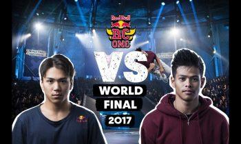 B-Boy Issei vs B-Boy Willy | Red Bull BC One World Final 2017 | Top 16