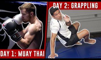 MMA Training Schedule (1 Week) – No Equipment Needed!