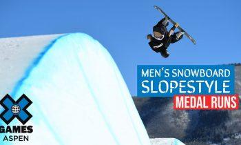 MEDAL RUNS: Jeep Men's Snowboard Slopestyle | X Games Aspen 2021